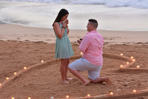 Wedding Proposal in Saint Lucia 1
