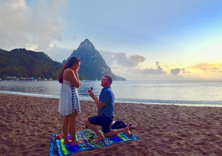 Wedding Proposal in Saint Lucia 4
